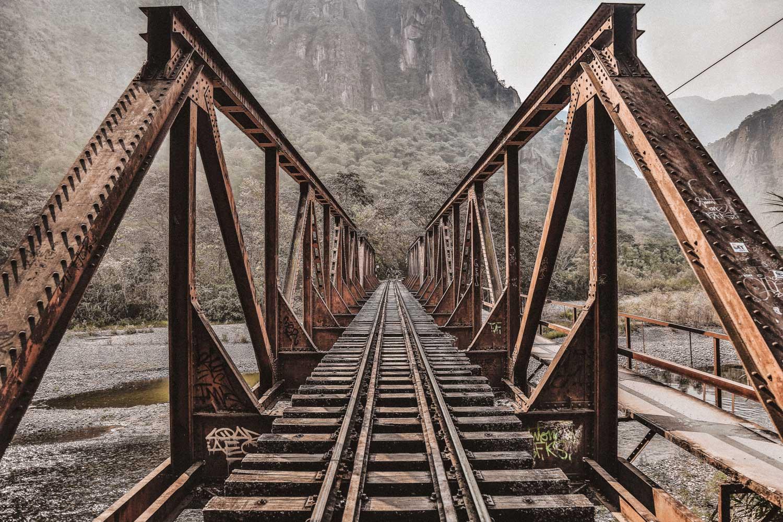 Bridge in the Inca Jungle