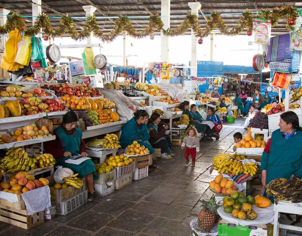 Mercado de San Pedro - Cusco