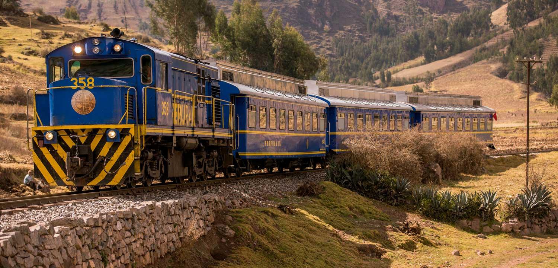 Peru Rail Train in Poroy