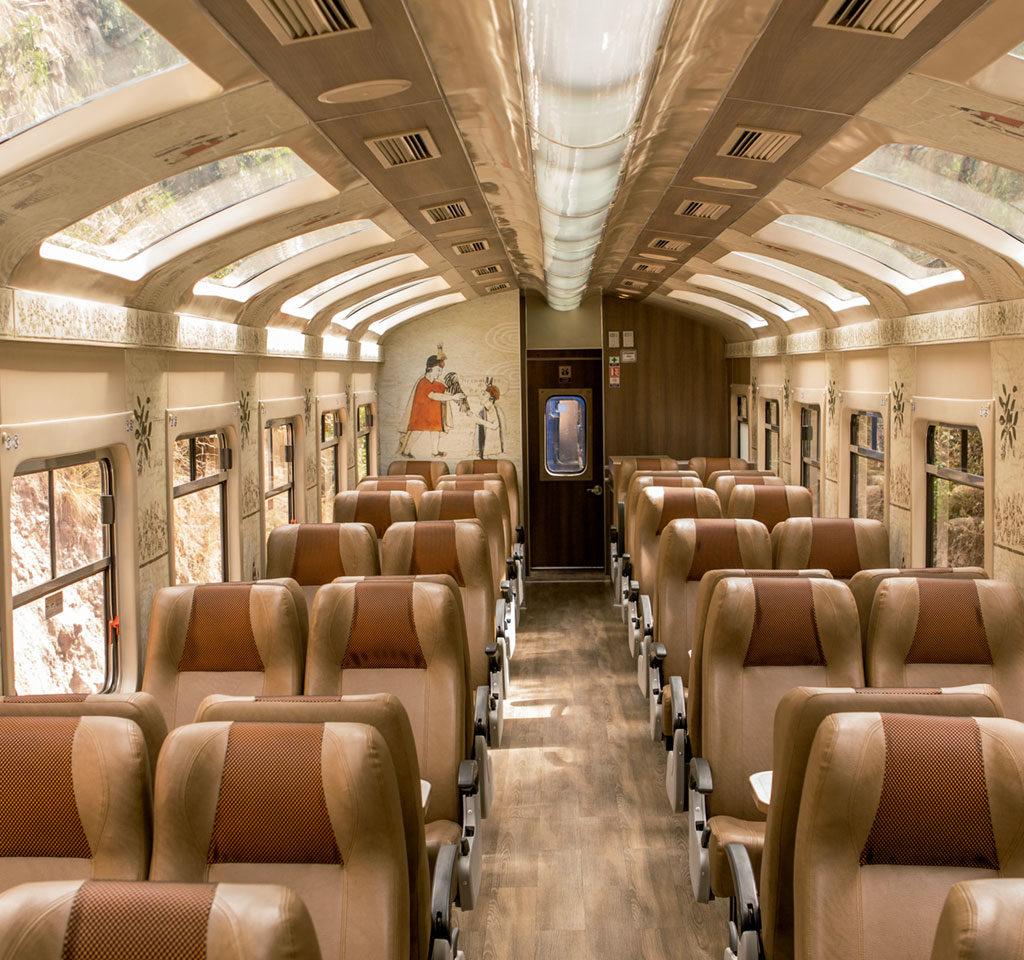 Expedition Train by Peru Rail