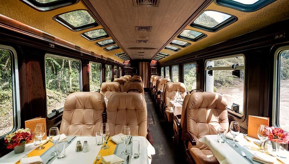 First Class train by Inca Rail