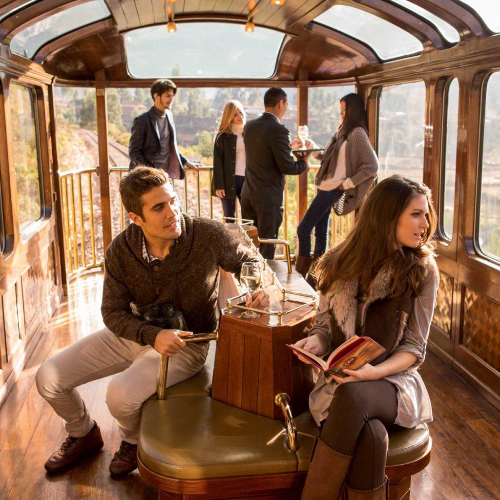 Sacred Valley Train by Peru Rail