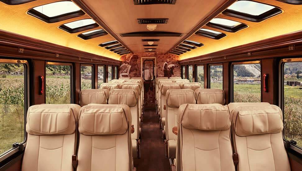 Voyager Train by Inca Rail